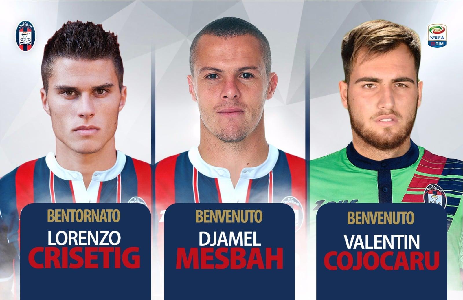 FC Crotone: nuovi arrivi e definizione mercato