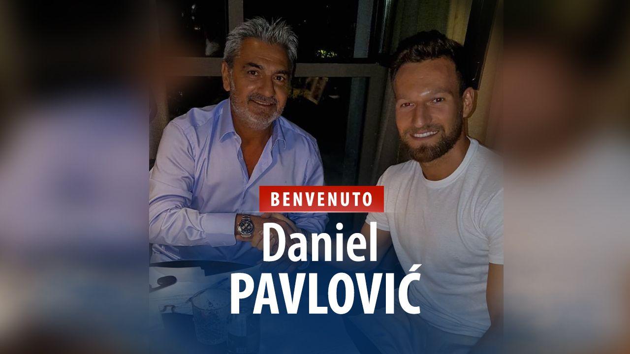 Il Crotone prende Pavlovic. Benvenuto Daniel!