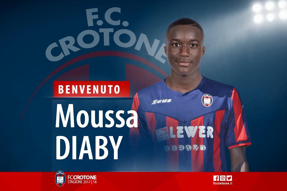 Diaby è rossoblu. Benvenuto Moussa!