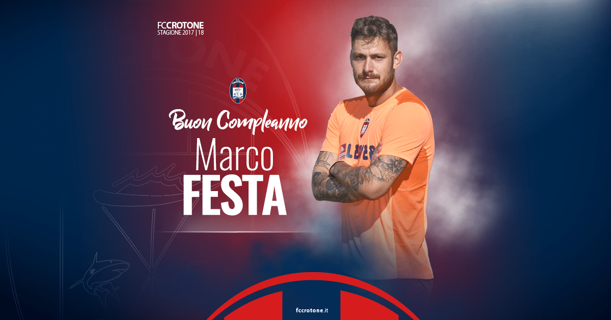 Buon Compleanno Marco Fc Crotone