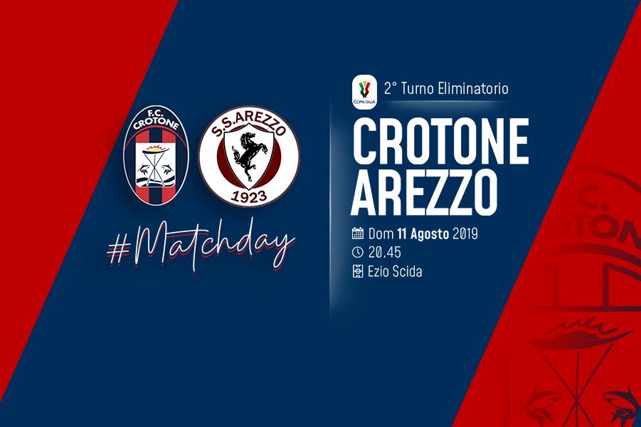 Coppa Italia, #CrotoneArezzo: al via la vendita dei biglietti