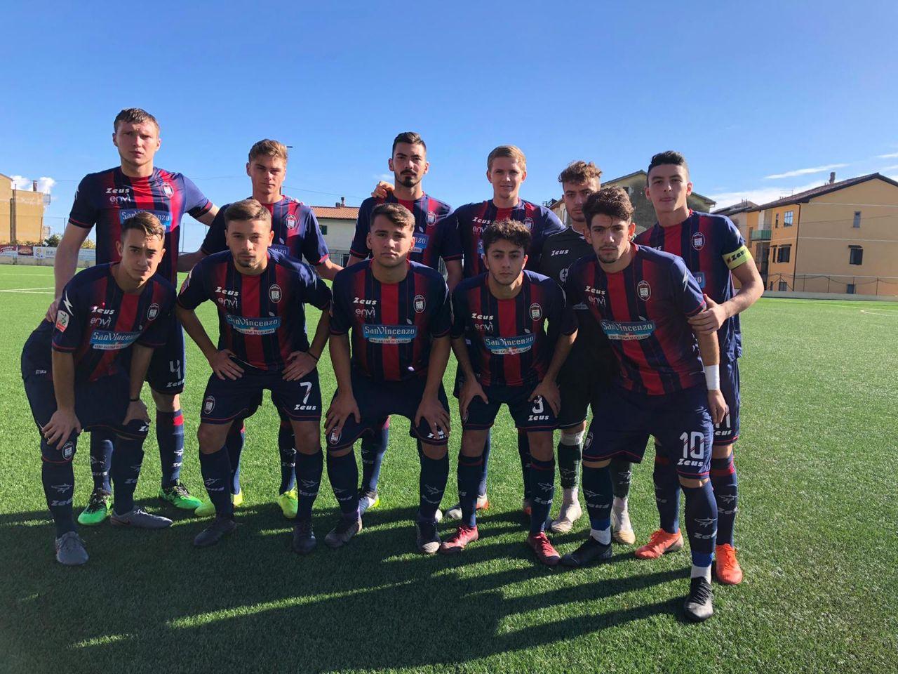 Primavera 2, 10ª giornata: Crotone-Frosinone 0-0