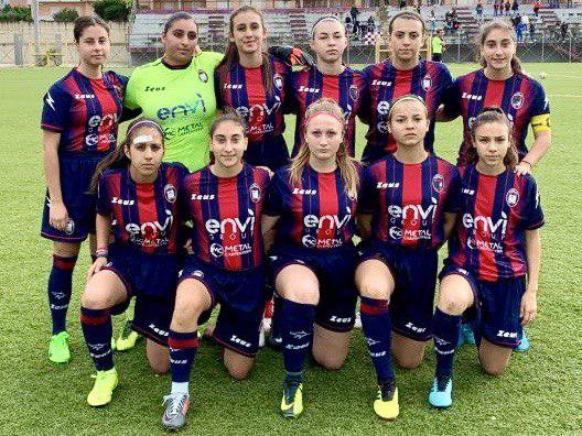 Under 17 Femminile, 6ª giornata: Crotone-Salernitana 1-5