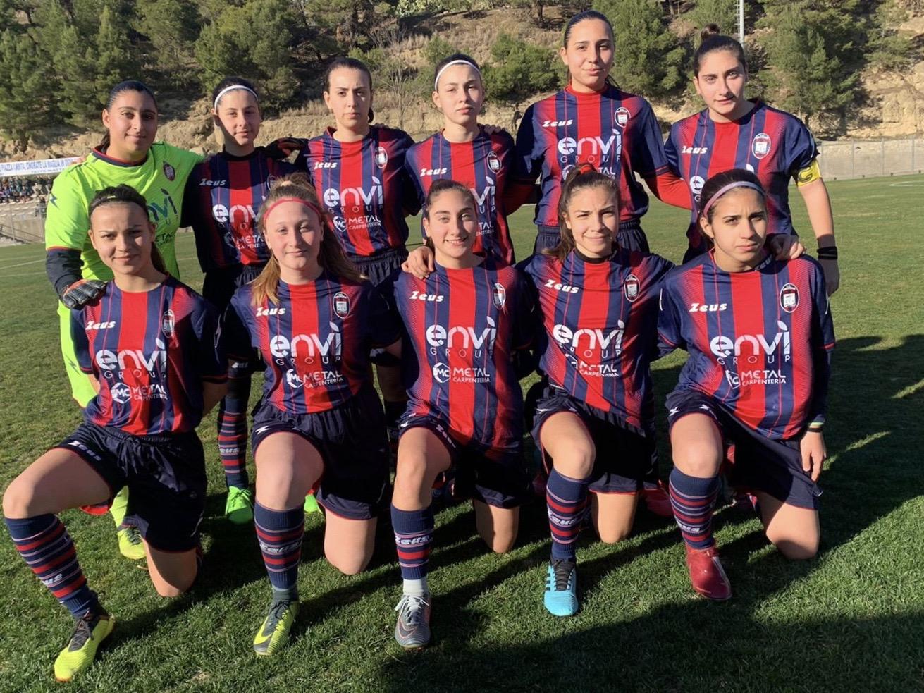 Under 17 Femminile, 12a giornata: Crotone-Napoli 2-5