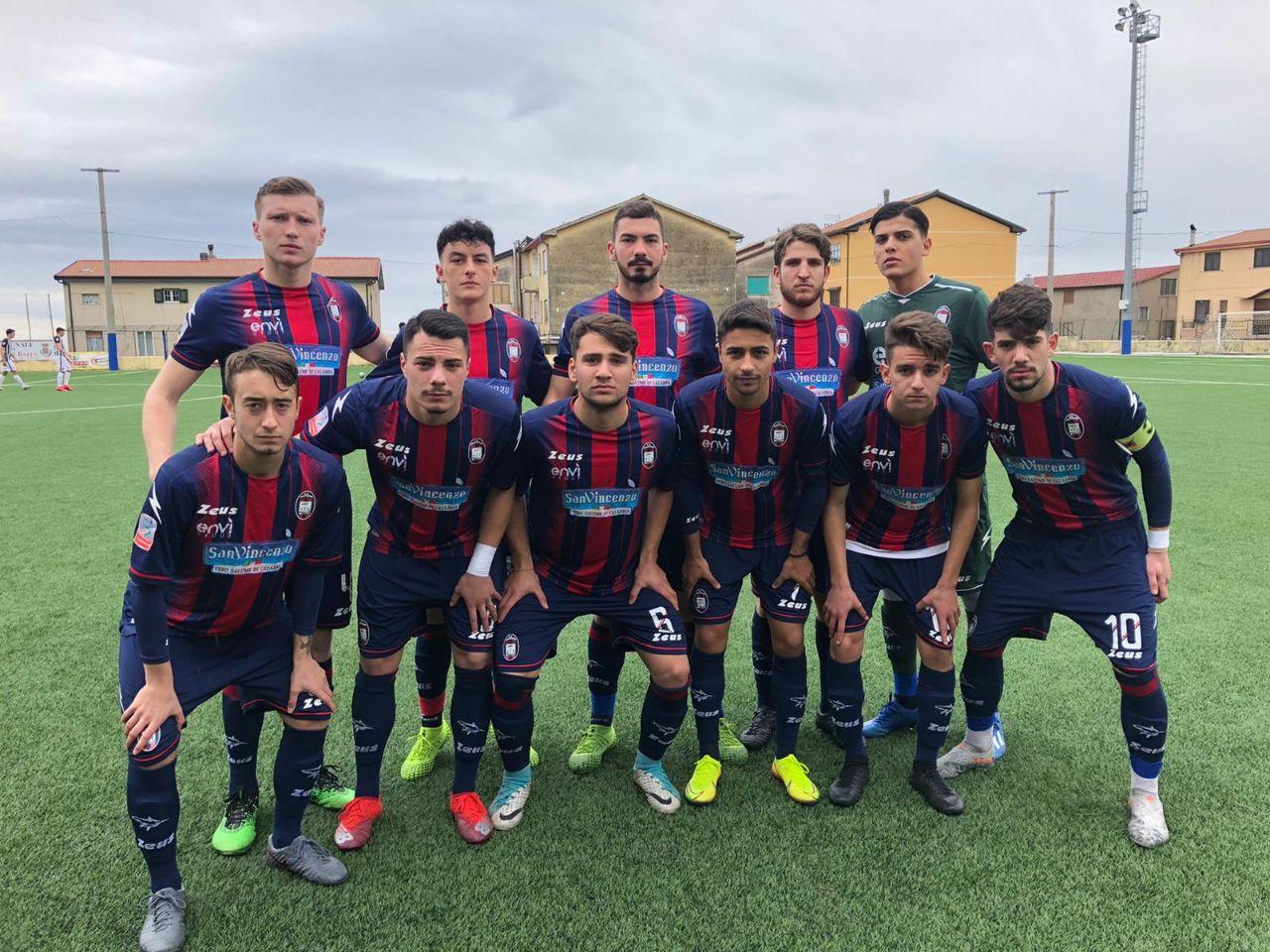 Primavera, 9ª giornata ritorno: Crotone – Ascoli 1-0