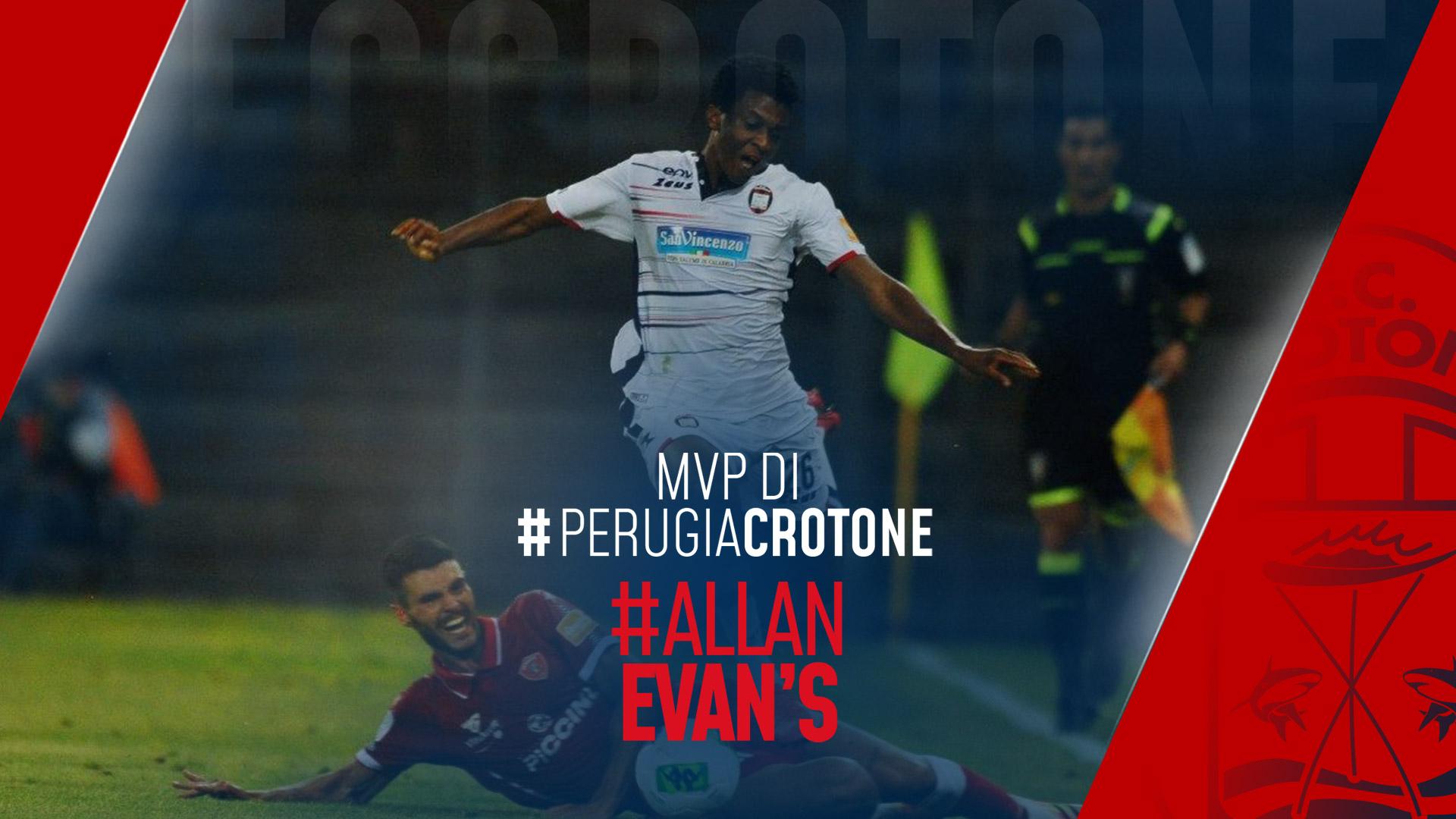 Evan's Mvp di #PerugiaCrotone