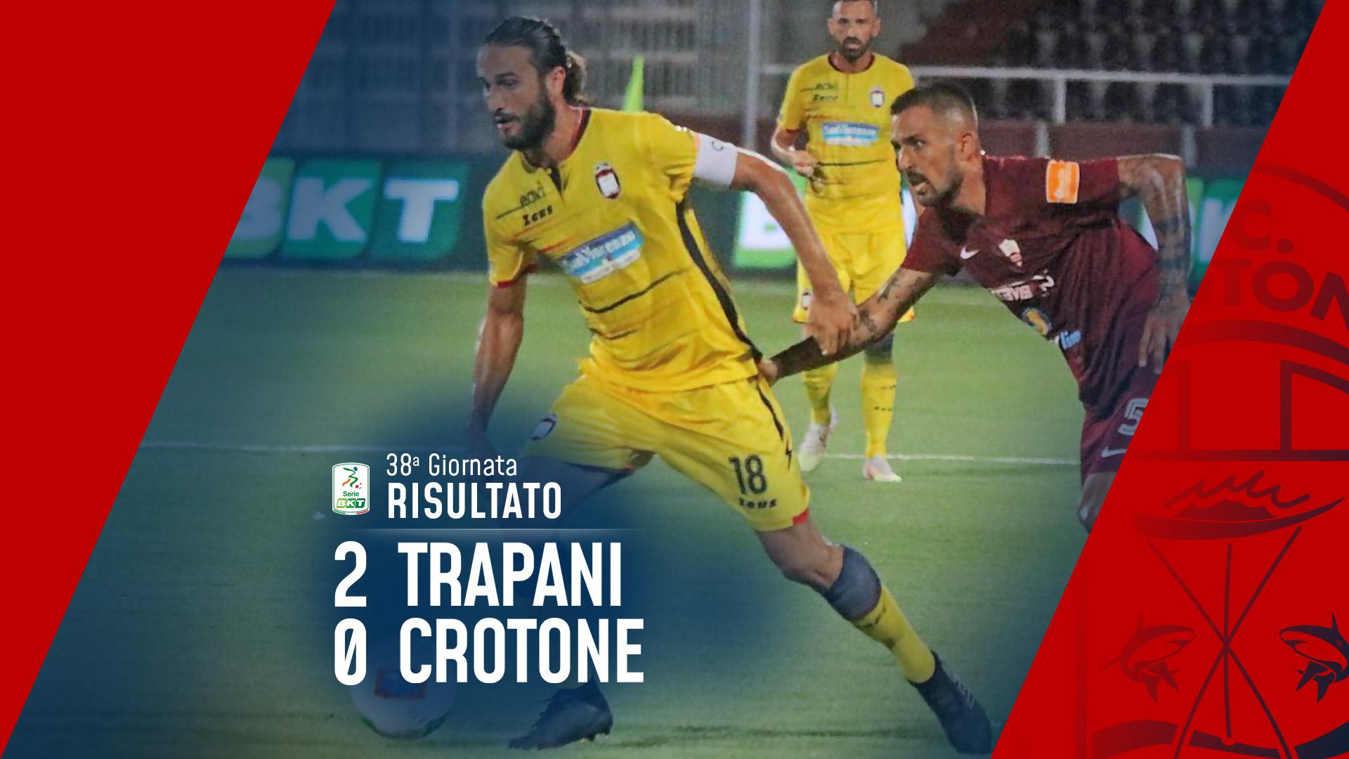 Serie BKT, 38a giornata: Trapani-Crotone 2-0