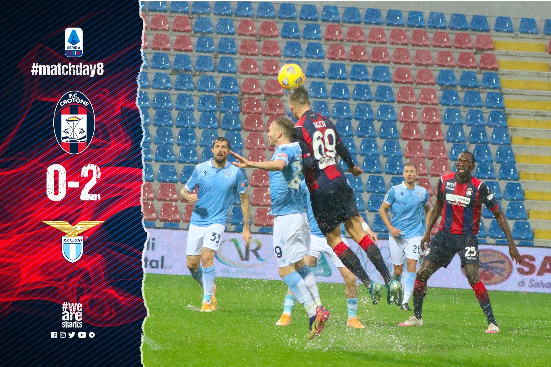 Serie A Tim, 8ª giornata: Crotone-Lazio 0-2