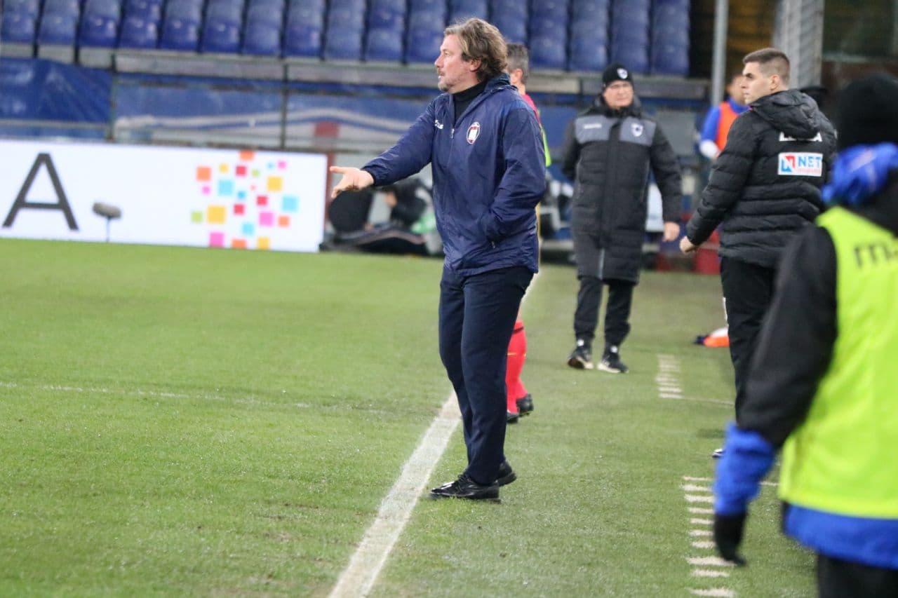Mister Stroppa nel post Sampdoria-Crotone