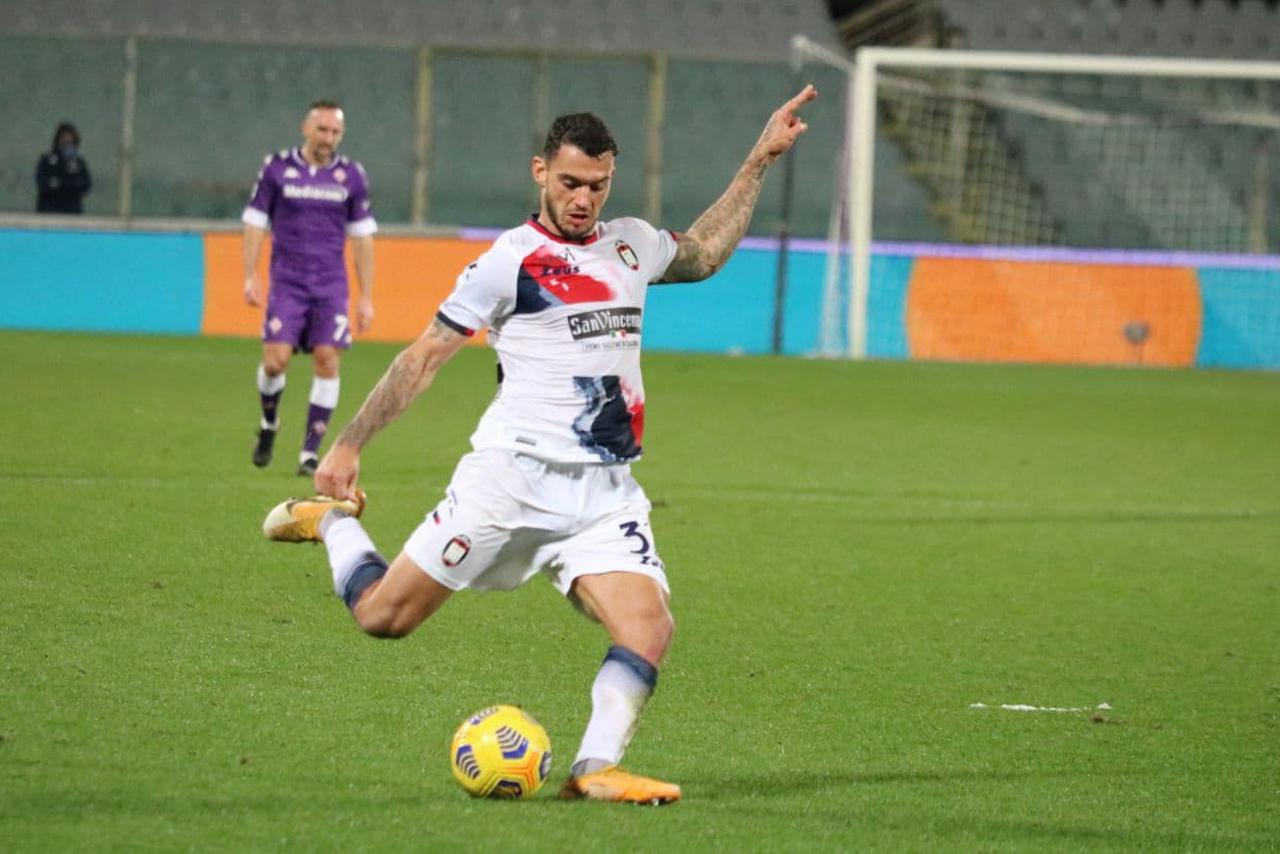 Pedro Pereira al termine di  #FiorentinaCrotone