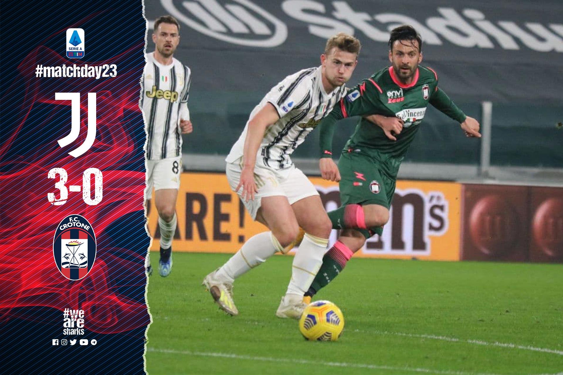 Serie A Tim, 23ª giornata: Juventus-Crotone 3-0