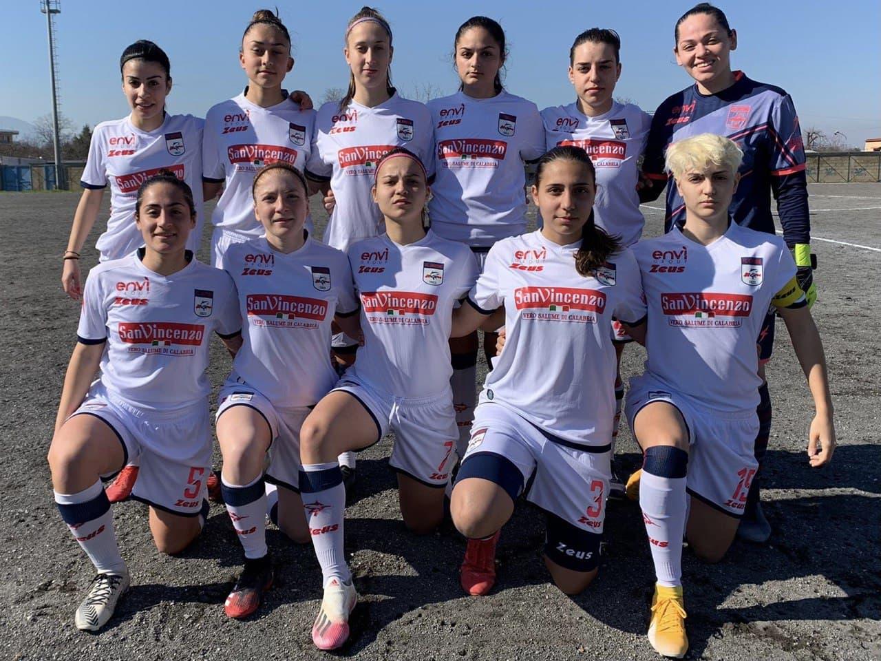 Femminile Serie C, 9a giornata: Sant'Egidio-Crotone 2-0