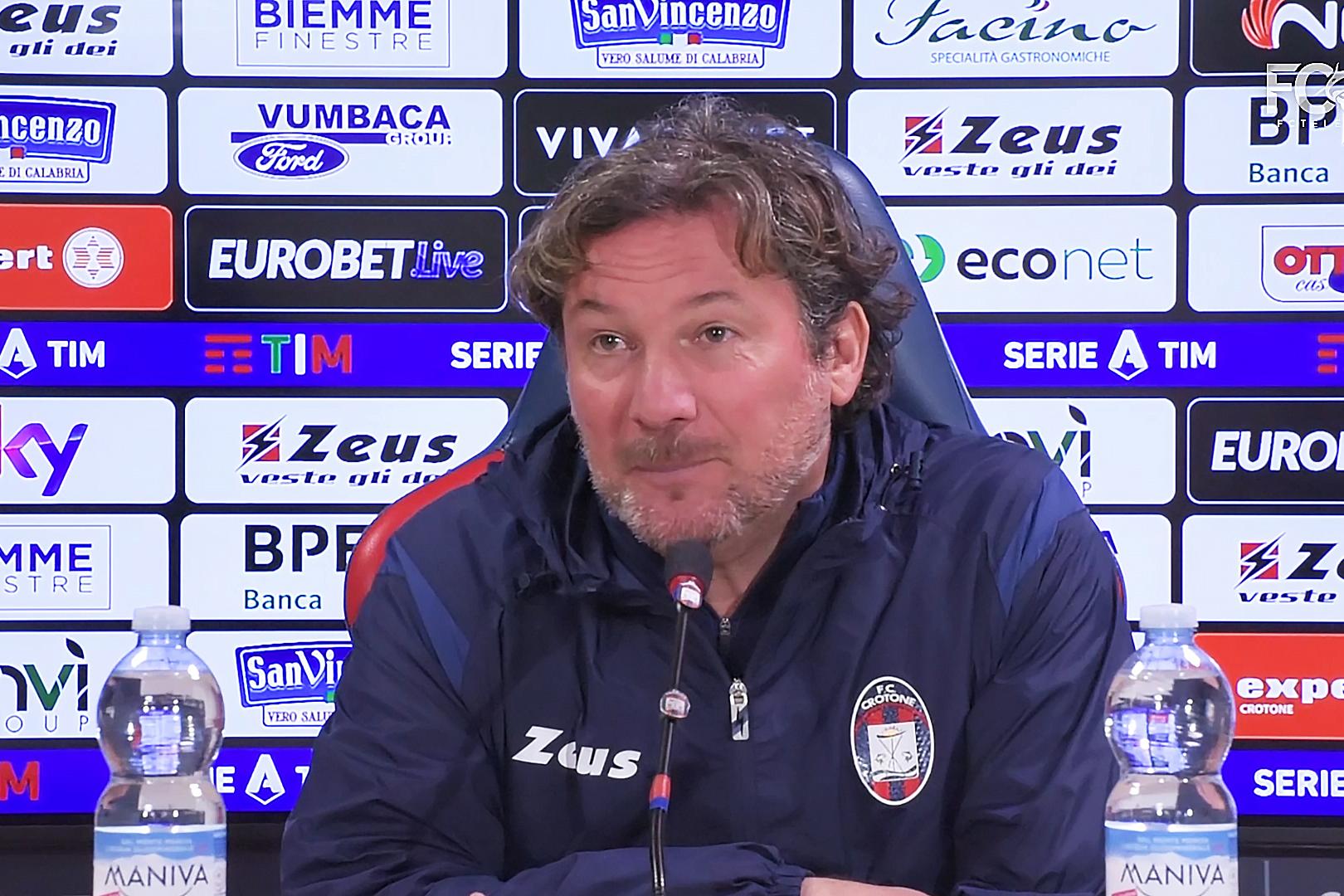 Mister Stroppa presenta #MilanCrotone