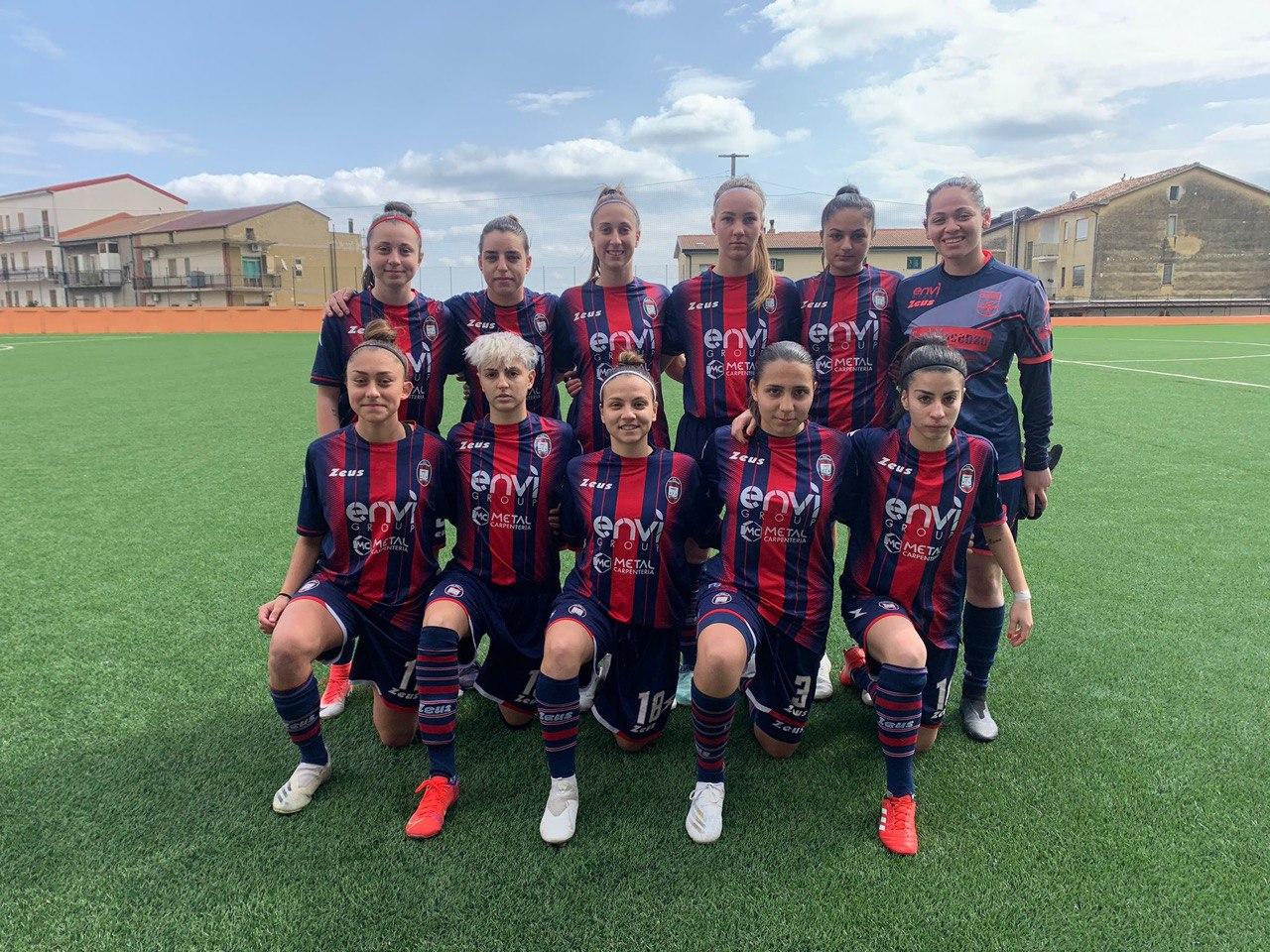 Femminile Serie C, 11ª giornata: Crotone-Formello 2-7