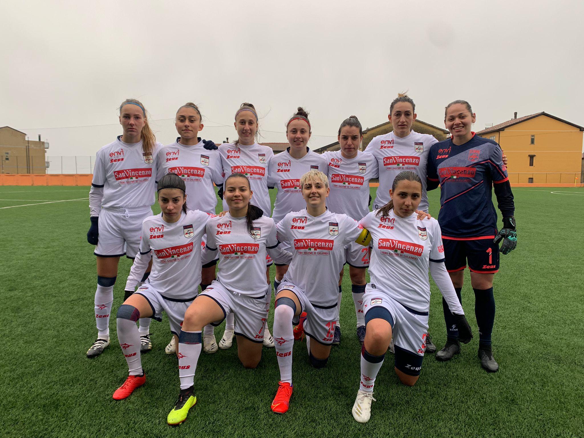 Femminile Serie C, 1ª giornata di ritorno: Crotone-Apulia Trani 0-2