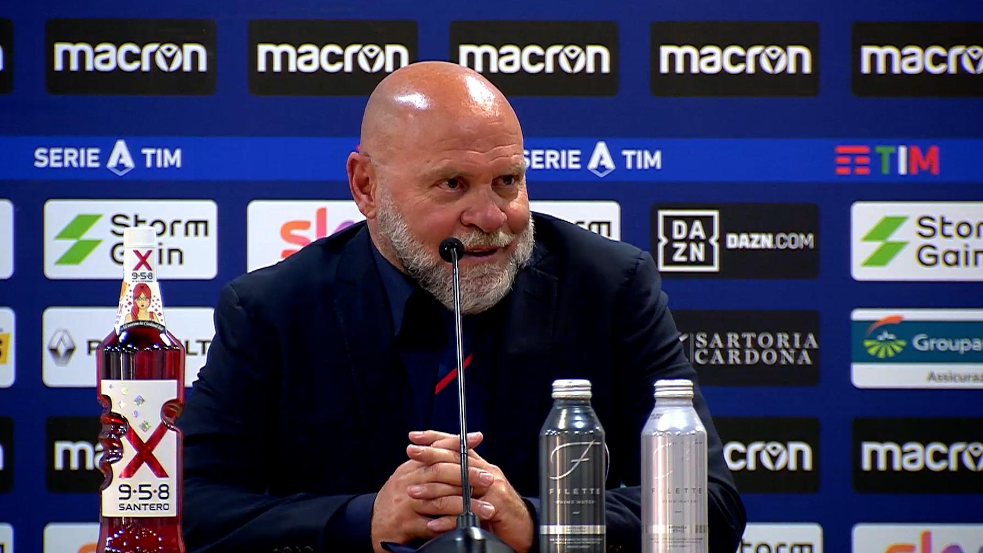 #LazioCrotone, Mister Cosmi nel post-gara