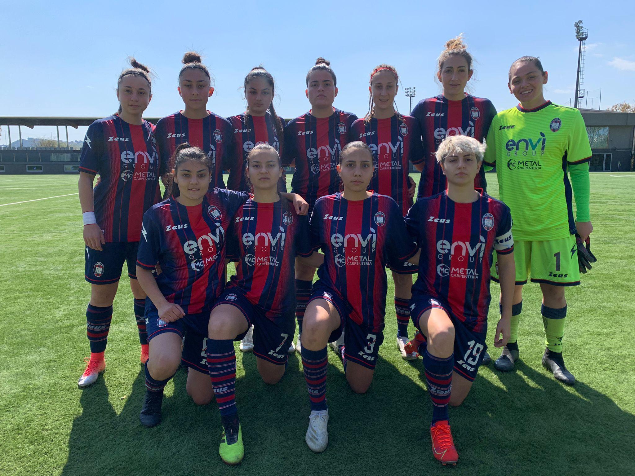 Femminile Serie C, 15ª giornata: Pescara-Crotone 1-1