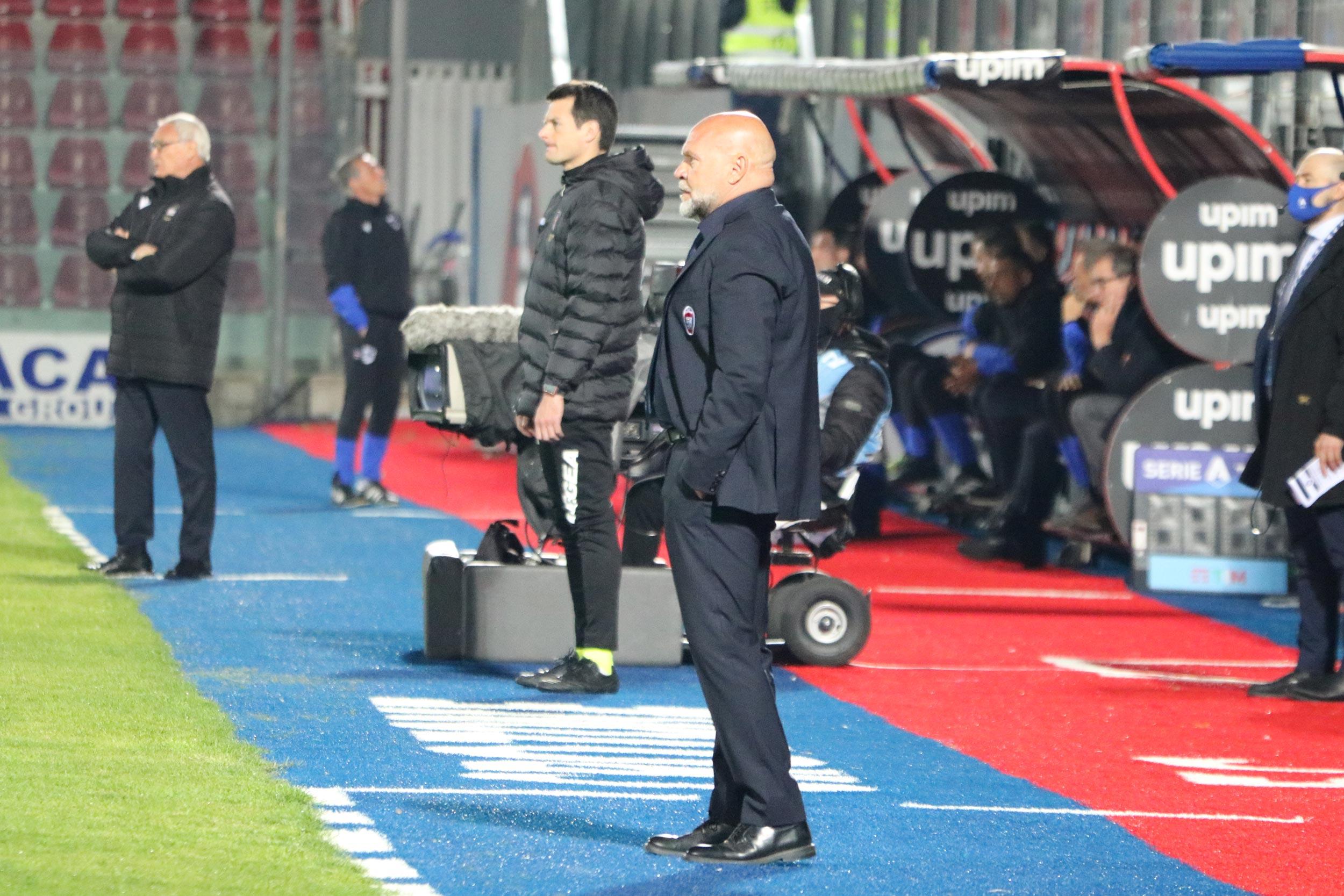 #CrotoneSampdoria, Mister Cosmi a fine gara