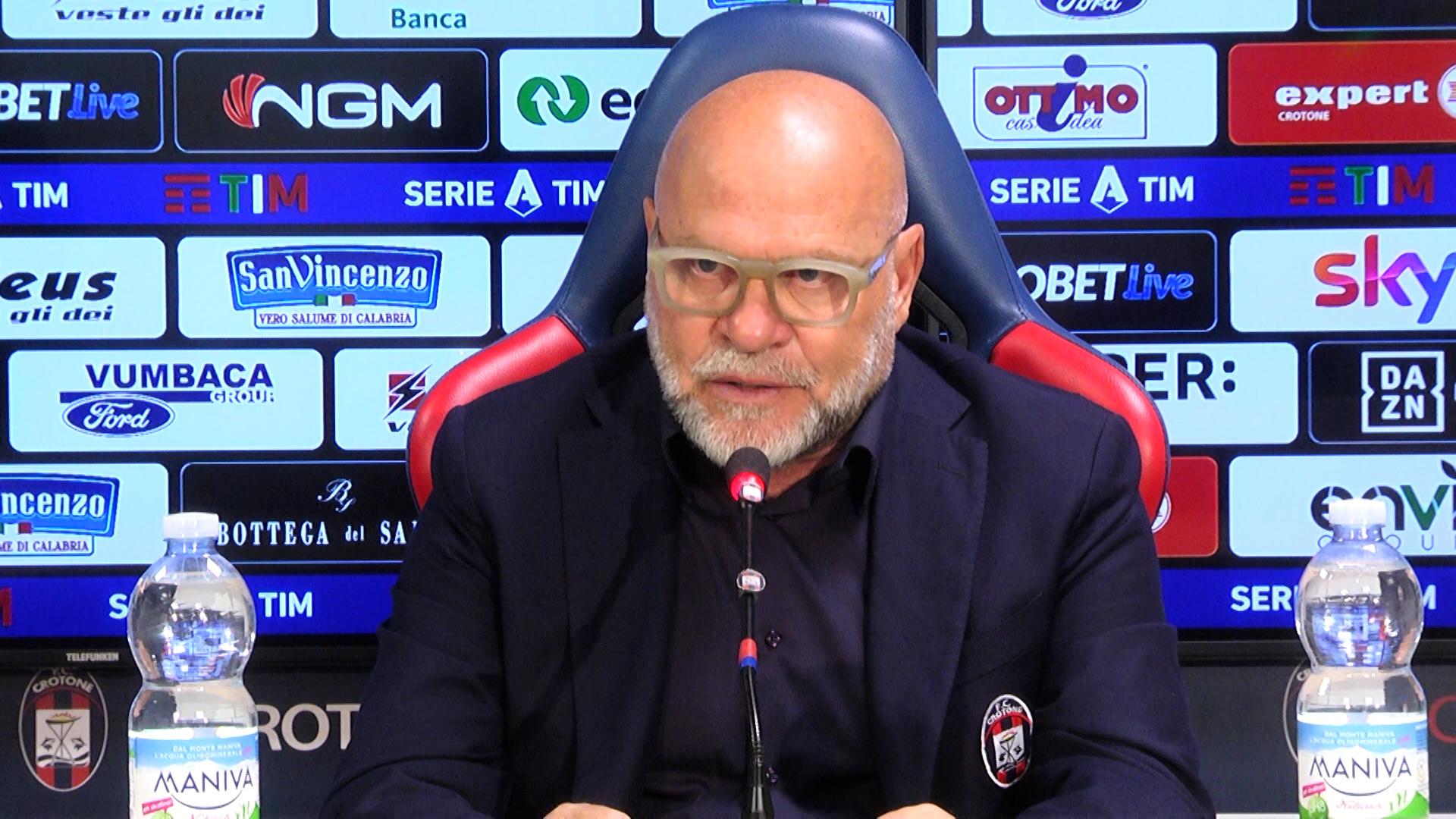 Mister Cosmi alla vigilia di #ParmaCrotone