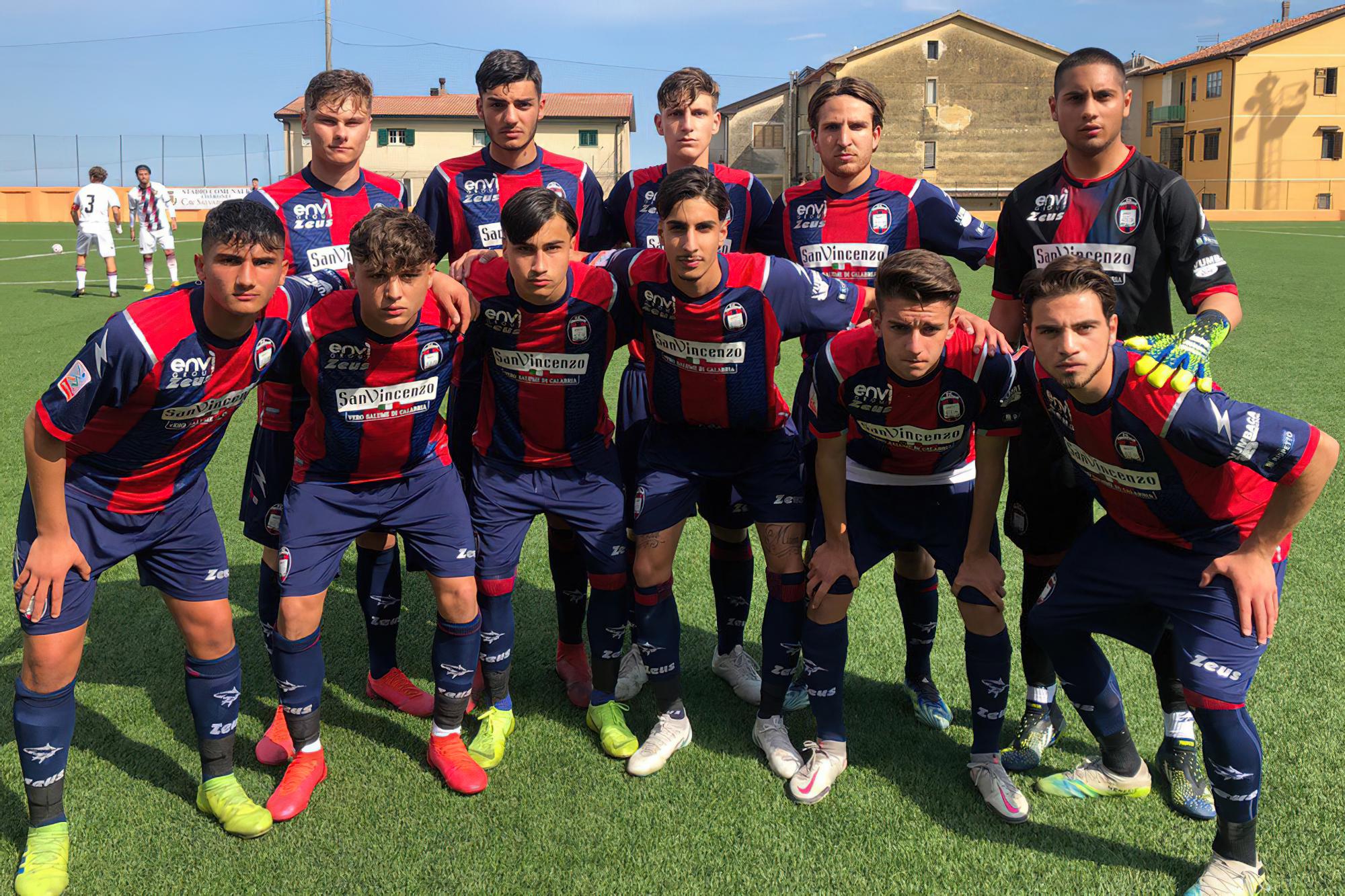 Campionato Primavera 2, 5ª giornata di ritorno: Crotone-Salernitana 3-2