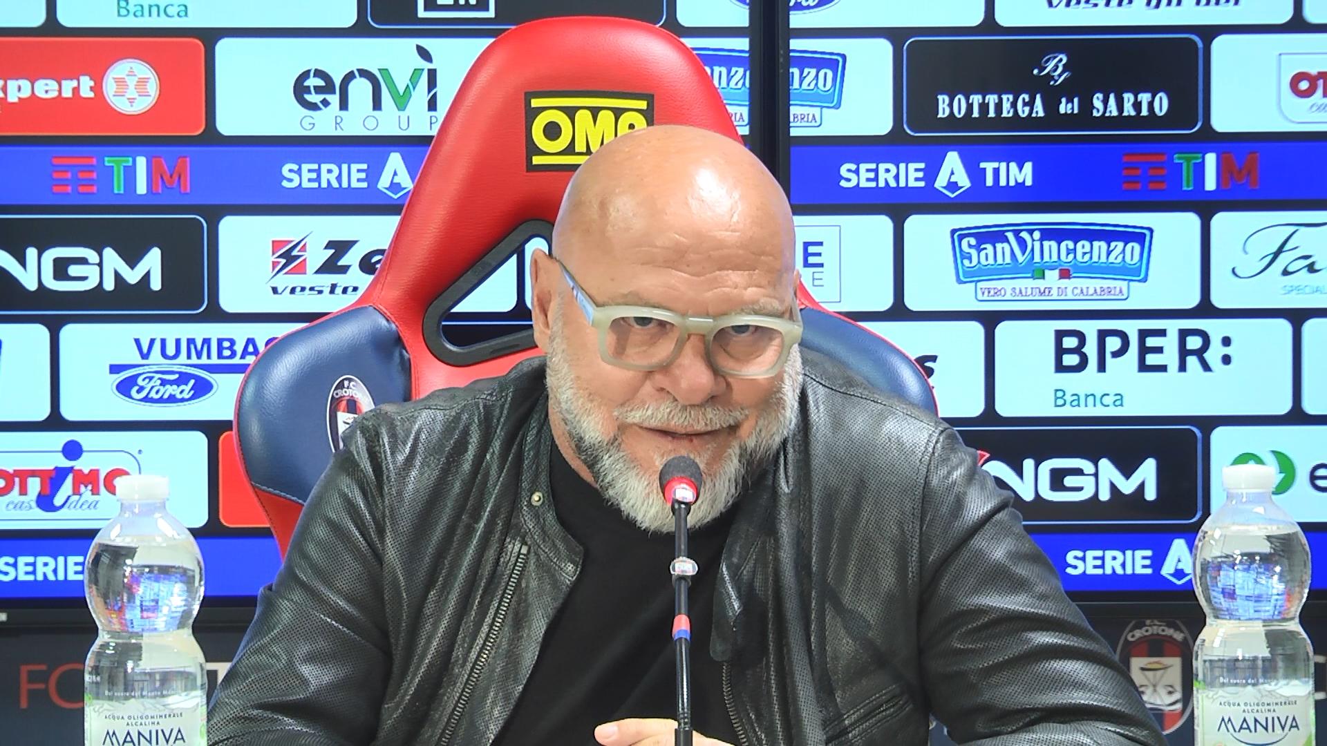 Mister Cosmi alla vigilia di #CrotoneFiorentina