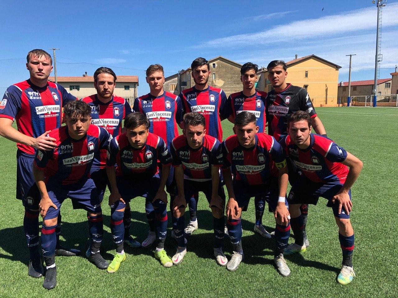 Campionato Primavera 2, recupero 7ª giornata: Crotone-Napoli 2-1