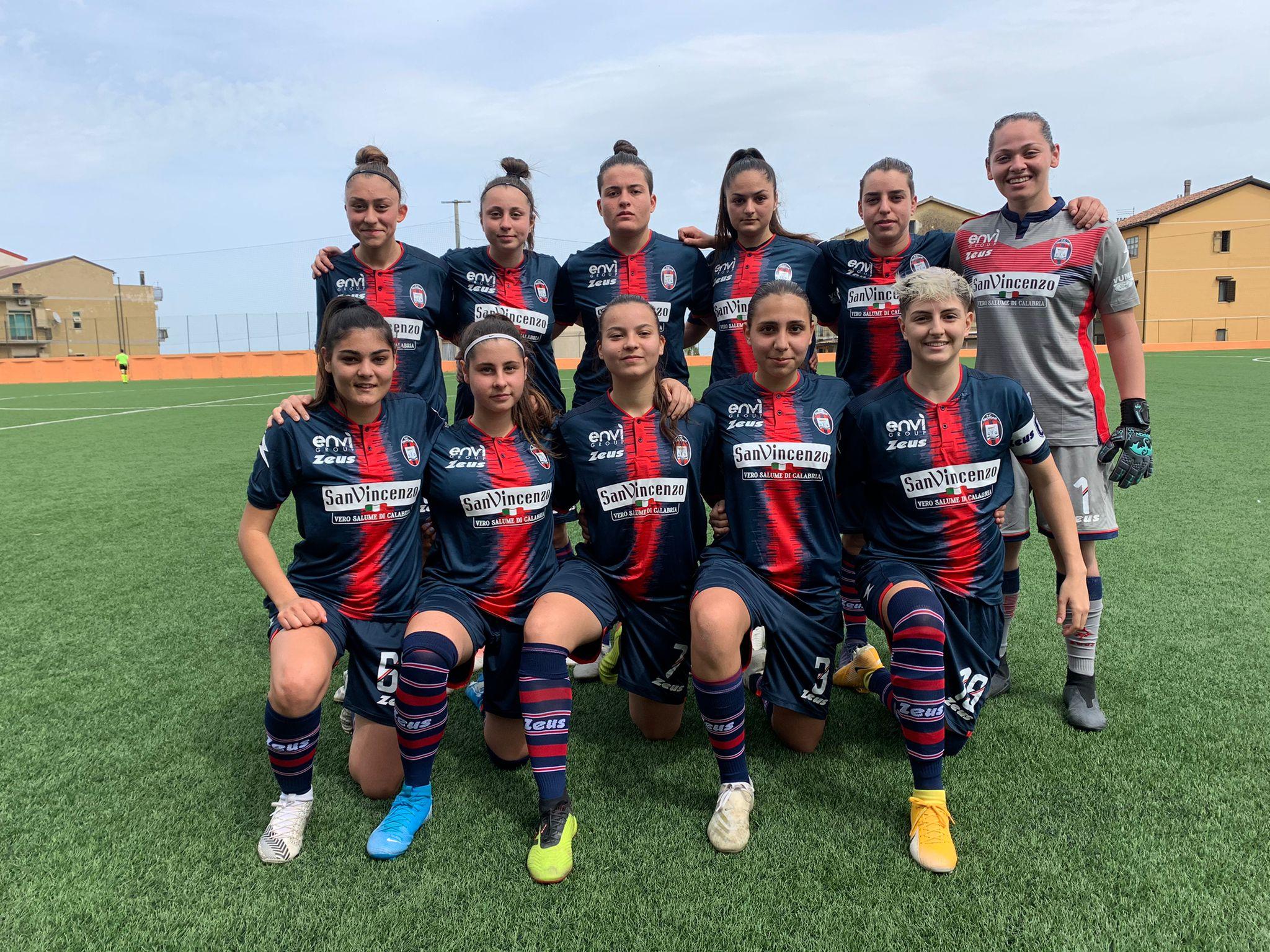 Femminile Serie C, 16ª giornata: Crotone-Palermo 1-6