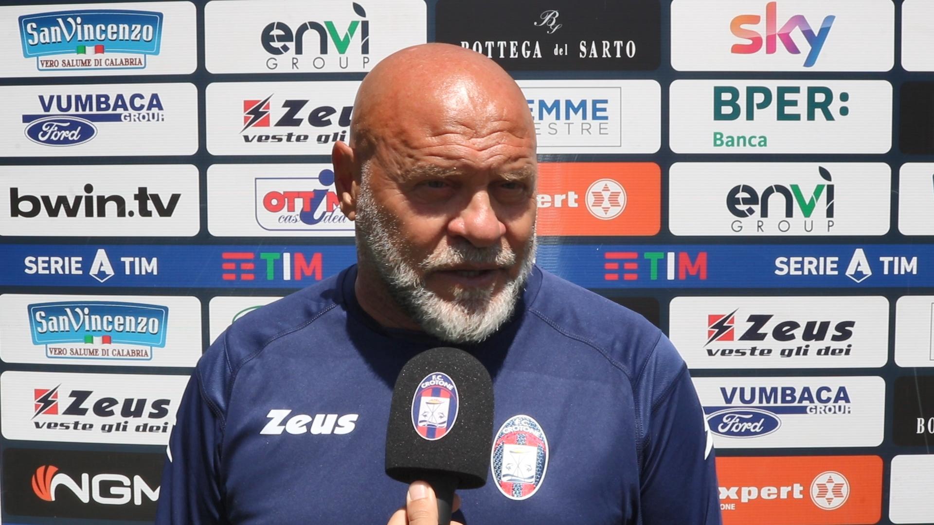 Mister Cosmi alla vigilia di #CrotoneVerona
