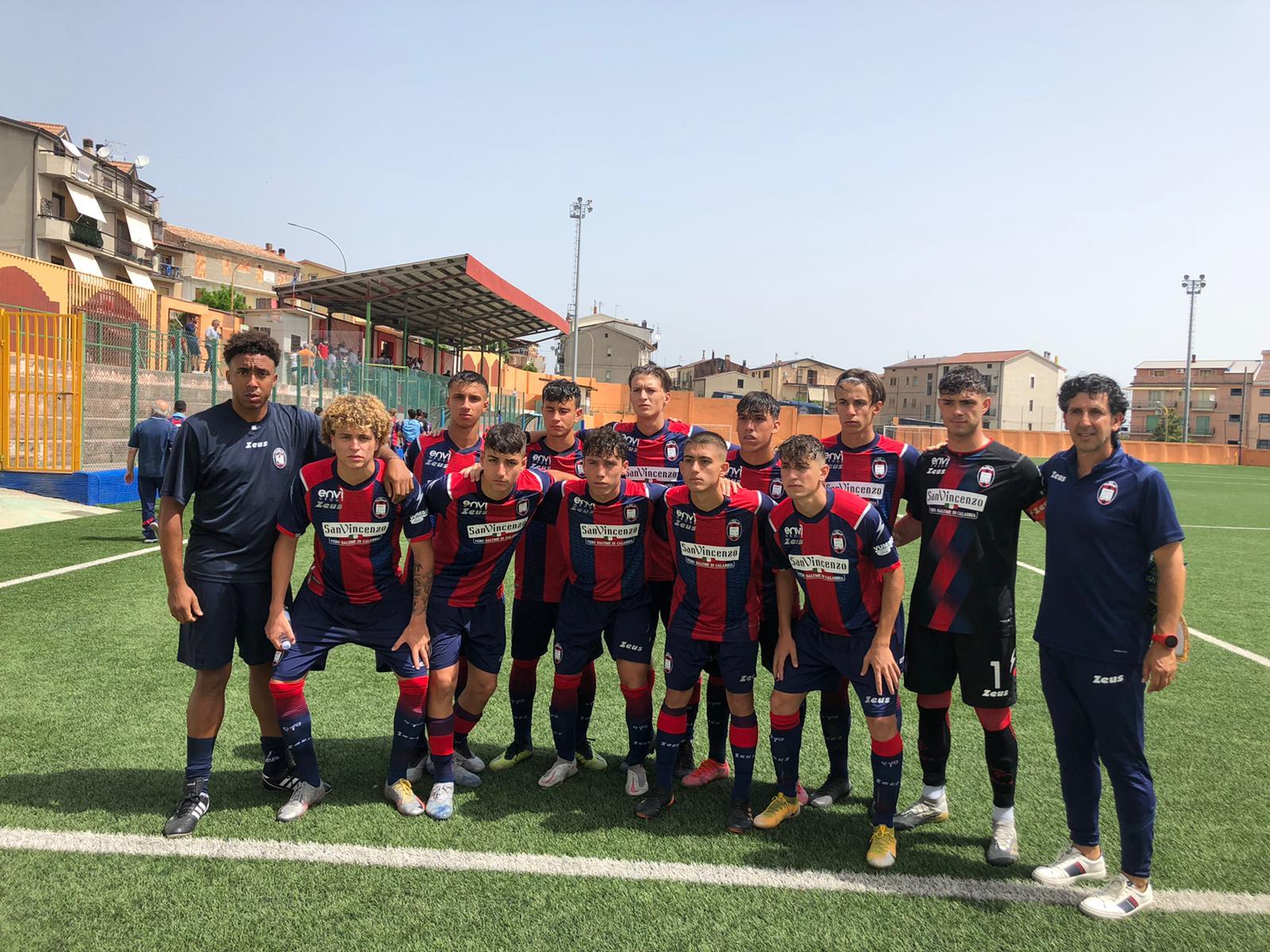 Under 17, Quarti di Finale: Crotone-Roma 0-5