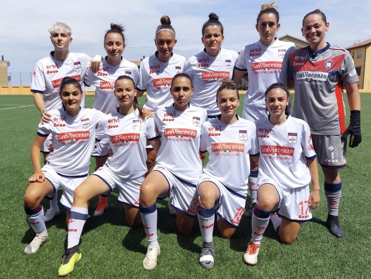 Femminile Serie C, 20ª giornata: Crotone-Sant'Egidio 4-2