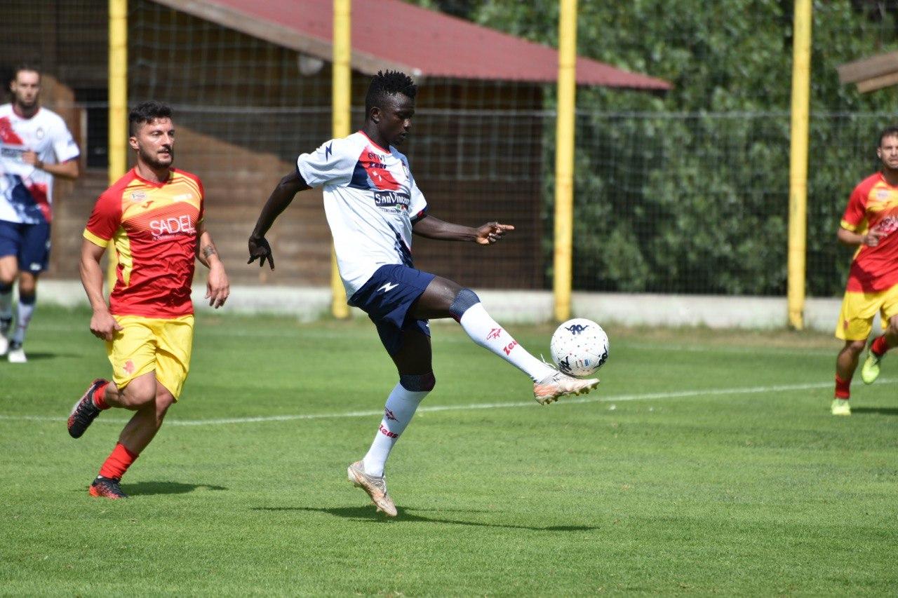 Terza amichevole stagionale, Crotone-Asd Cotronei Caccuri 18-0