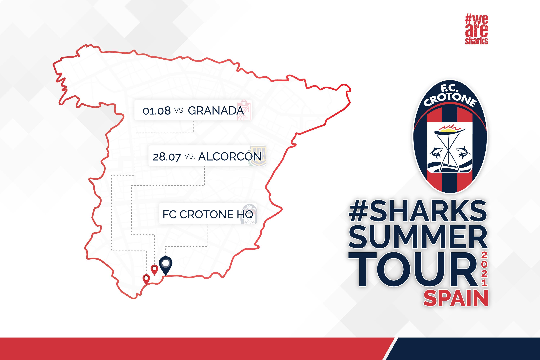 Tournée internazionale in Spagna per gli squali #SharksSummerTour2021