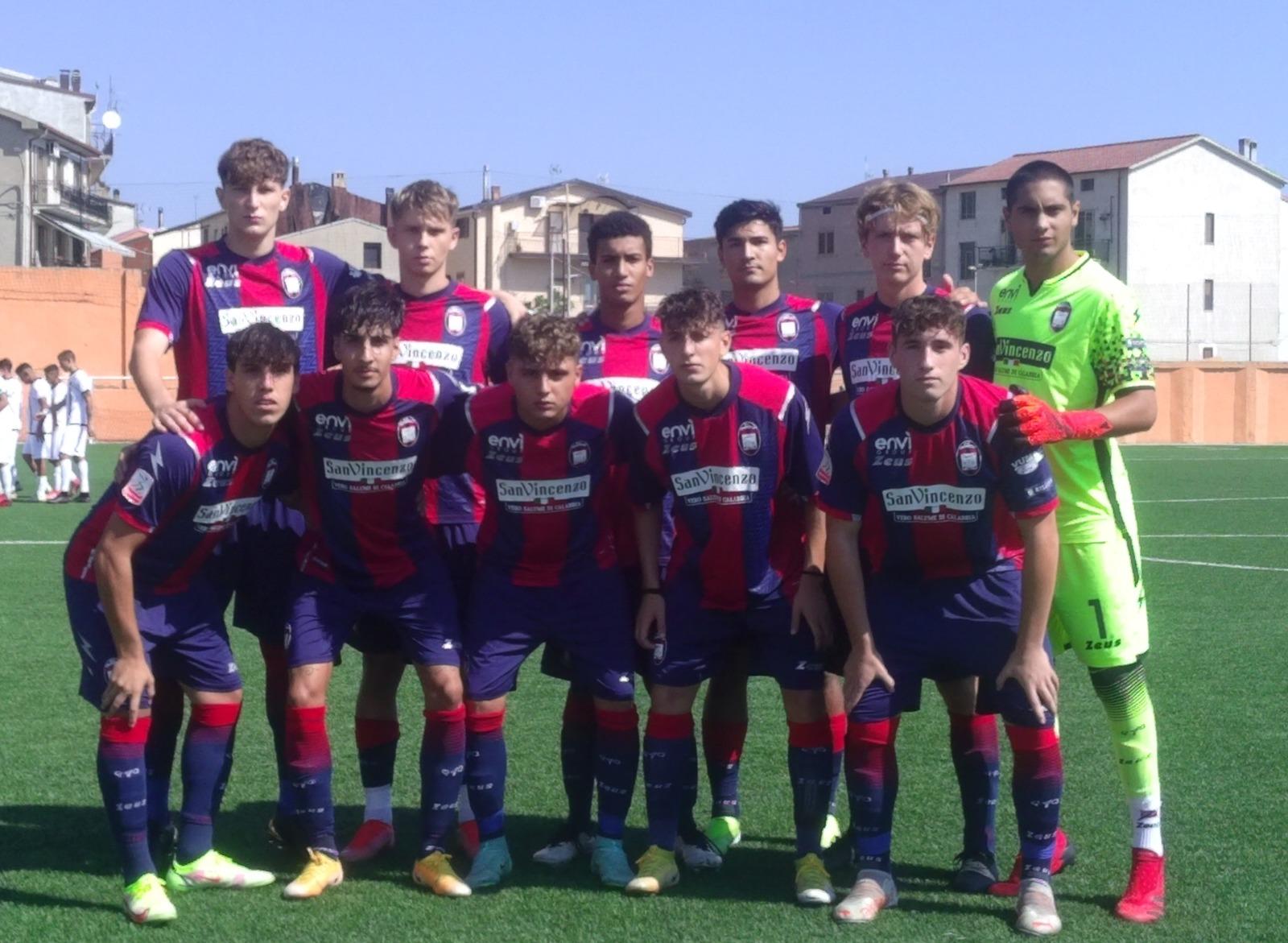 Primavera 2, 1ª giornata: Crotone-Spezia 4-2