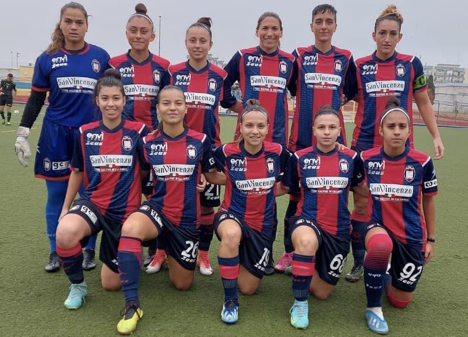 Femminile Serie C, 1a giornata: Fesca Bari-Crotone 0-4
